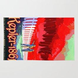 Vintage poster - Kepler-186f Rug