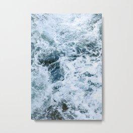 Barbarian Waves Metal Print