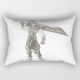 Cloud Strife Final Fantasy VII Rectangular Pillow