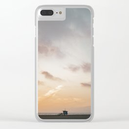 Venice Beach California Clear iPhone Case