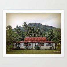 Island House Art Print