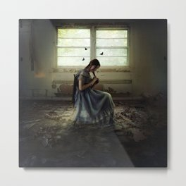 Her World Metal Print