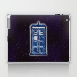 Filigree TARDIS Laptop & iPad Skin