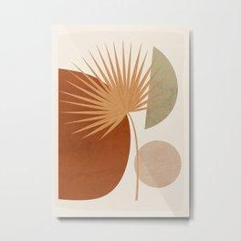Tropical Leaf- Abstract Art 14 Metal Print