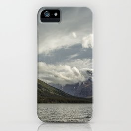 Breakthrough at Lake Josephine iPhone Case