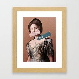 Health Care for all. Framed Art Print