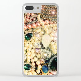 Treasure Clear iPhone Case