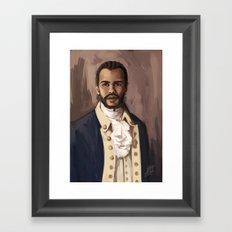 Lafayette Framed Art Print