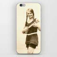 ursula iPhone & iPod Skins featuring Ursula by Julia Kathryn