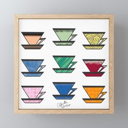 What's your favorite teacup? Framed Mini Art Print