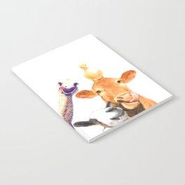 Farm Animal Friends Notebook