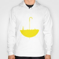how i met your mother Hoodies featuring Yellow umbrella by Beitebe