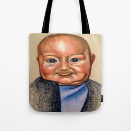 Slight Giggle  Tote Bag