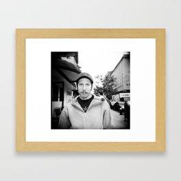 NYC holga portraits 4 Framed Art Print