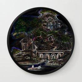 Velvet Island Wall Clock