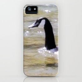 Water fowl iPhone Case