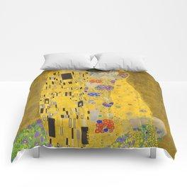 Gustav Klimt The Kiss Detail Comforters