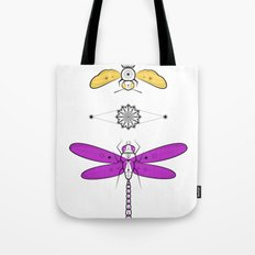 Two Insects Tote Bag