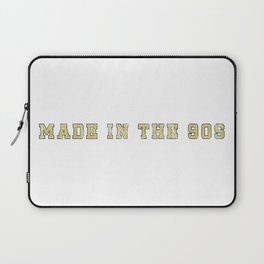 Made in the 90s Blue and Yellow Laptop Sleeve