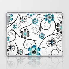 Winter Flowers Laptop & iPad Skin