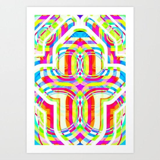 Psychost Art Print