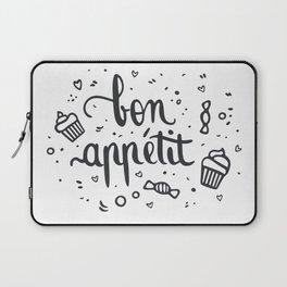 Bon appétit - calligrapy Laptop Sleeve