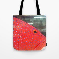 Fish Up Close Tote Bag