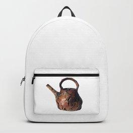 Photograph of Red Stoneware Teapot, Ceramic Art [Rostislav Eismont] Backpack