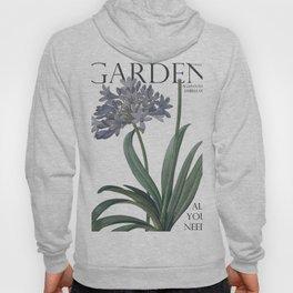 Victoria's Garden, feat. Agapanthus Umbellatus, Magazine Cover Hoody