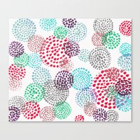 bubbles Canvas Prints featuring Bubbles by Snehal Jain