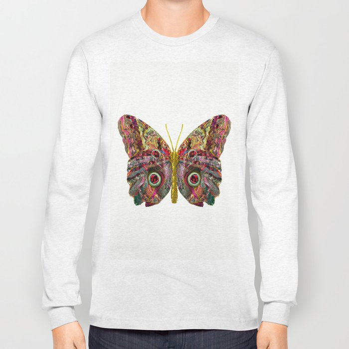 Float Like A Butterfly Long Sleeve T-shirt