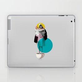 news int the morning Laptop & iPad Skin