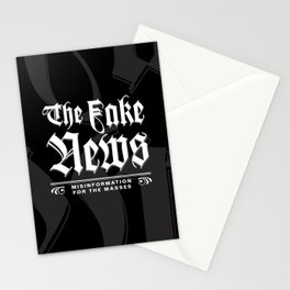 The Fake News Header Stationery Cards