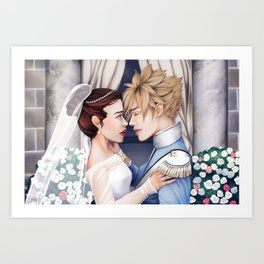 His Grace and Her Highness Art Print