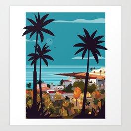 Fuerteventura skyline Art Print