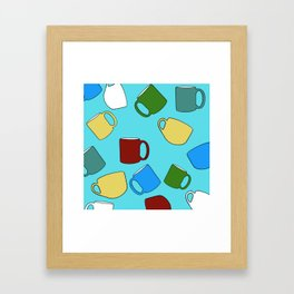 Coffee Mugs! Framed Art Print