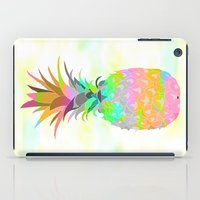 pineapple iPad Cases featuring Pineapple by Ornaart