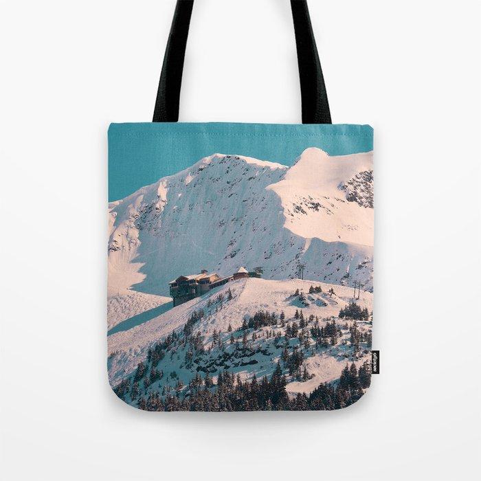 Mt. Alyeska Ski Resort - Alaska Tote Bag