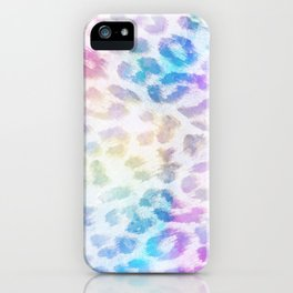 Watercolor Leopard iPhone Case