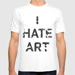 I HATE ART / PAINT T-shirt