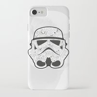 stormtrooper iPhone & iPod Cases featuring Stormtrooper by Santos