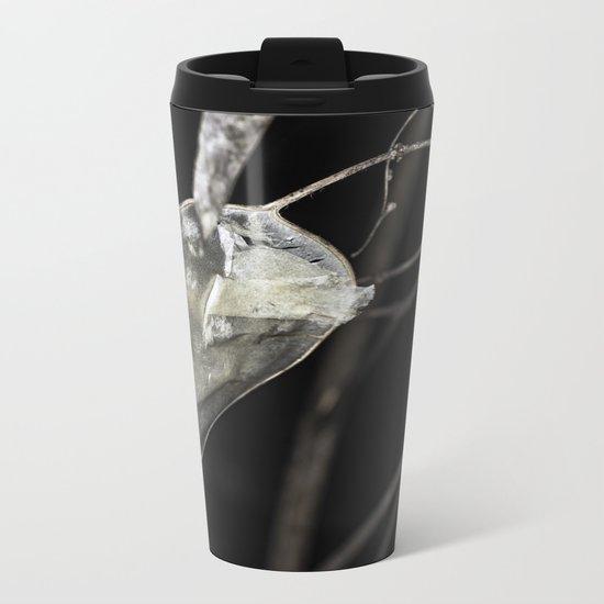 Silver dollar plant Metal Travel Mug