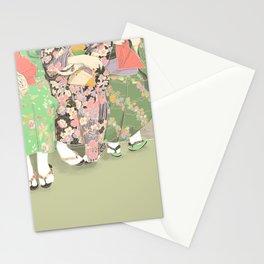 Kyoto matcha Stationery Cards