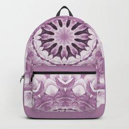 Floral Mandala - Purple Pastel Backpack