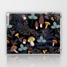 dark wild forest mushrooms Laptop & iPad Skin