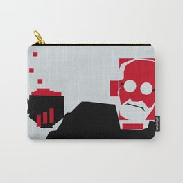 Tea and Crumpets with Freud Carry-All Pouch