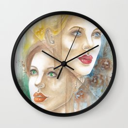 Glimmers of Hope Wall Clock