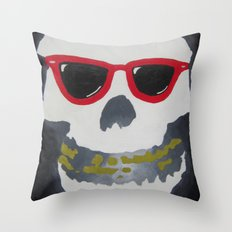 Old Dirty-Crimson Ghost-Face Killa Throw Pillow