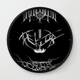 The Best Ever Death Metal Bands Out Of Denton Wall Clock