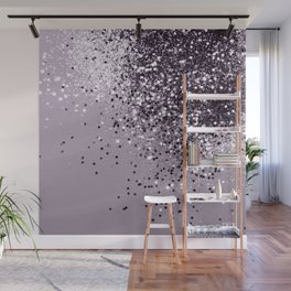 Sparkling Lavender Lady Glitter #1 #shiny #decor #art #society6 Wall Mural